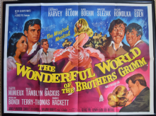Wonderful World of the Brothers Grimm (1962) - UK Quad Film Poster